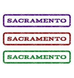 Sacramento watermark stamp vector