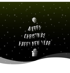 Christmas happy new year background vector