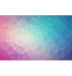 Abstract natural polygonal background Gradient vector image vector image