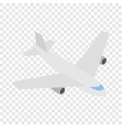 plane isometric icon vector image vector image