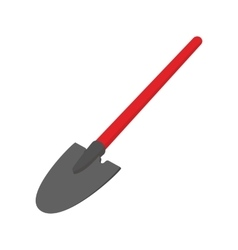 Shovel cartoon icon vector
