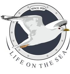 LIFE ON THE SEA vector image