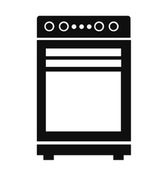 Oven pictogram icon vector
