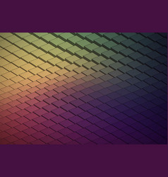 Abstract technological waveform backround vector