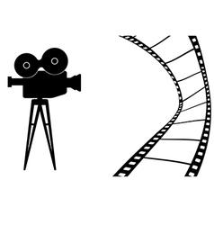 Cinema camera MB vector image vector image