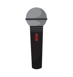 Simple dynamic modern microphone graphic vector