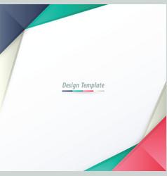 Template design white pink purple green vector