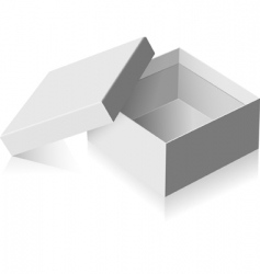 gray box vector image