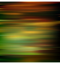 abstract brown green motion blur background vector image vector image