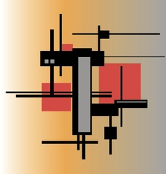 Architectural abstraction vector