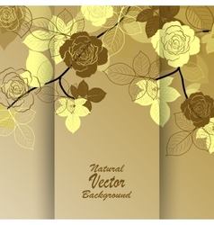 Beautiful abstract branch vector