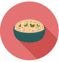 risotto vector image vector image