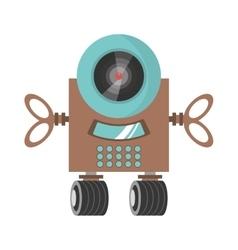 Robot surveillance machine information vector