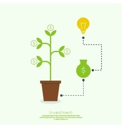 The concept of business project vector image