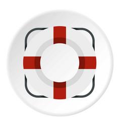 lifeline icon circle vector image