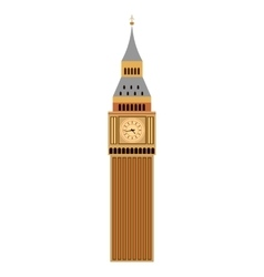 Big ben tower vector