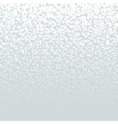 Falling Snow on the light Background Christmas vector image