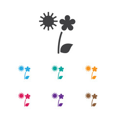 of planting symbol on summer vector image