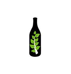 Organic drink vector image