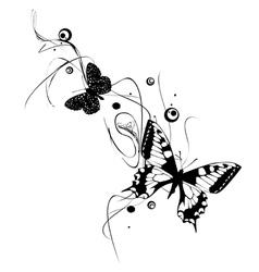 Butterflies Design vector image