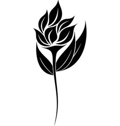 Flower Silhouette vector image