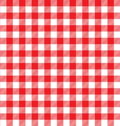 Red table cloth background seamless pattern vector