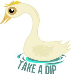 Take a dip vector