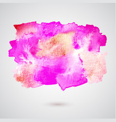 watercolorspot background vector image vector image