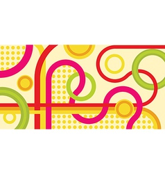 Abstract backdrop vector