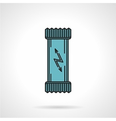 Energy bar flat icon vector