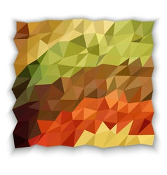 Earth tone color of triangle abstract wallpaper vector