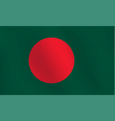 flag of bangladesh - vector image
