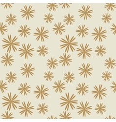 Flower pastel brown seamless pattern vector