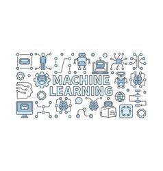 Machine learning algorithm vector