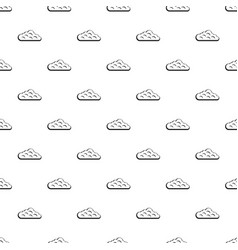 Sky cloud pattern vector