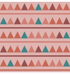 Triangles seamless background vector image vector image
