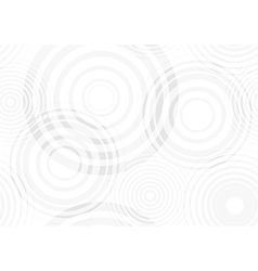 Water drop circles vector