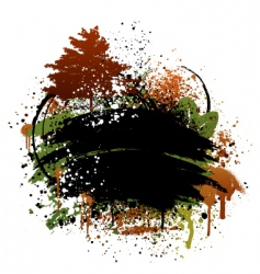 Autumn grunge design vector