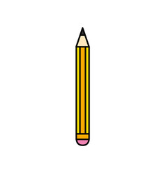 pencil tool design to study and write vector image vector image