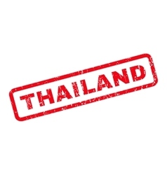 Thailand rubber stamp vector