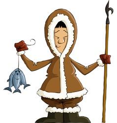 eskimo vector image