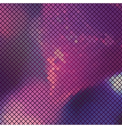 Abstract Lilac Mosaic Background vector image vector image