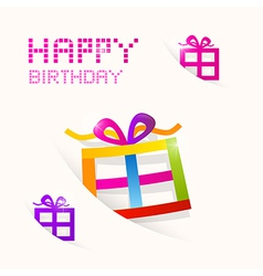Happy Birthday theme vector image