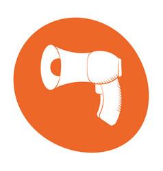 Megaphone loudspeaker sound marketing icon color vector