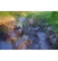 Triangles river vector