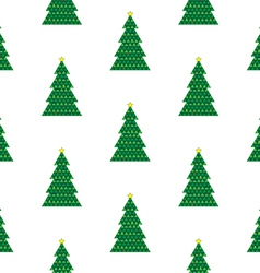 Xmas tree background vector image
