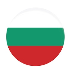 Bulgarian flag vector