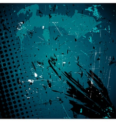 vector abstract grunge background vector image
