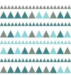 Triangles seamless background vector