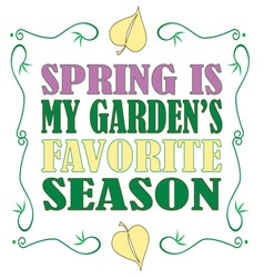 Favorite season vector